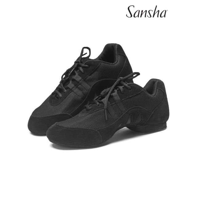 Sansha jazz baskets-sneakers cuir SALSETTE 3 V933LS