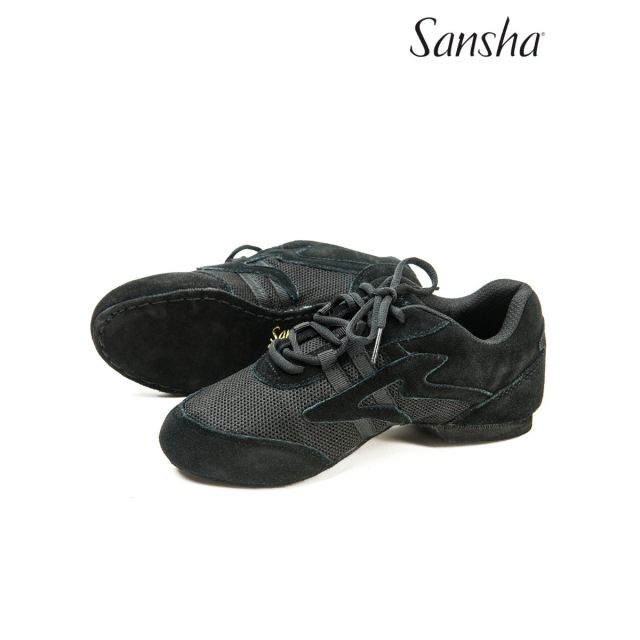 Sansha jazz baskets-sneakers cuir SALSETTE 1 V931L