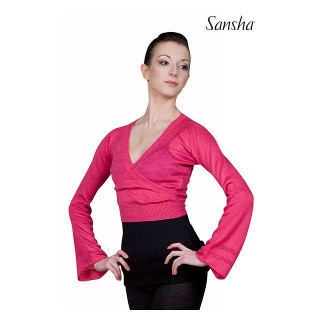 Sansha Cache-coeur en maille acrylique KARYANNE KT4040A