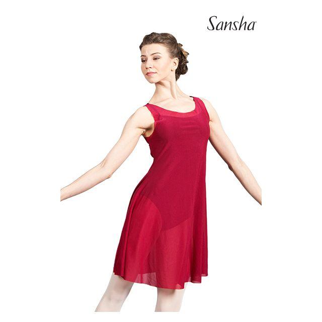 Sansha robe sans manches resille IRRESISTIBLE L1723P