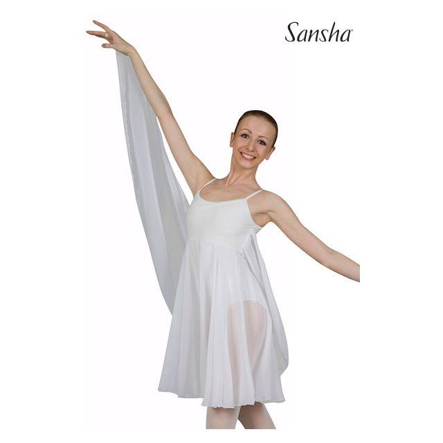 Sansha robe minces bretelles CORDELIA L1803CH