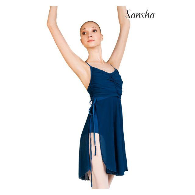 Sansha robe minces bretelles SAYURI L1814M