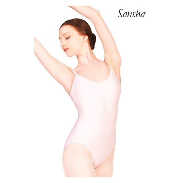 Sansha justaucorps fines bretelles criss-cross TIANA LE1569T