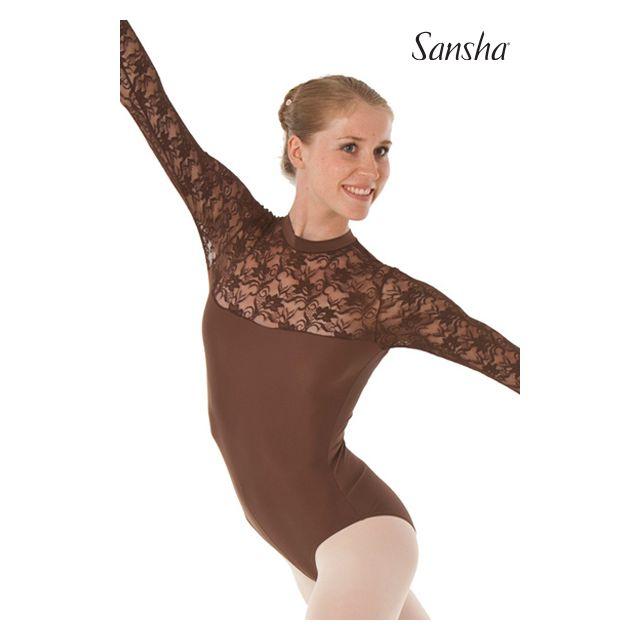 Sansha duotone mock tunique justaucorpsTEMORA LE4510M