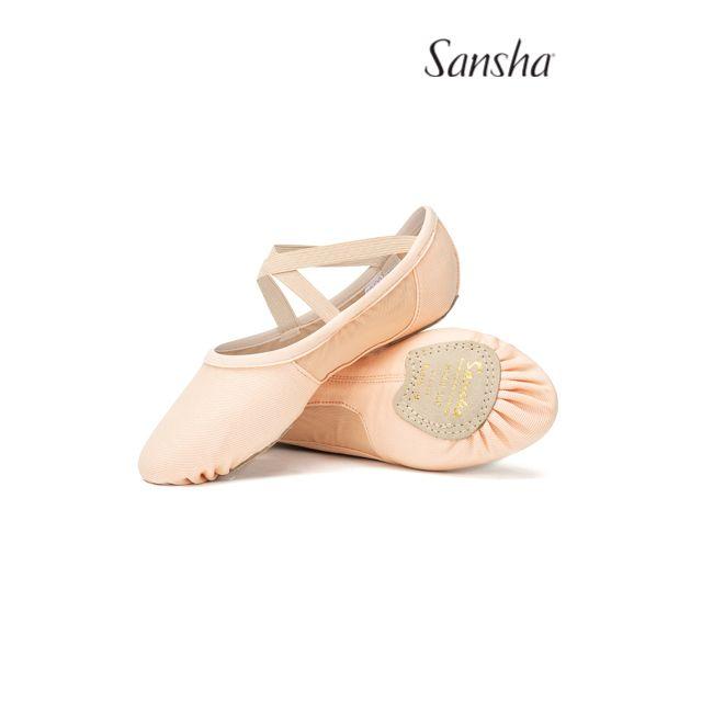 Sansha demi-pointes chaussons danse classique SLIM 30C
