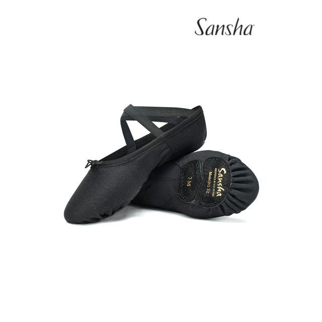 Sansha demi-pointes chaussons danse classiques toile PRO-MESH 32C