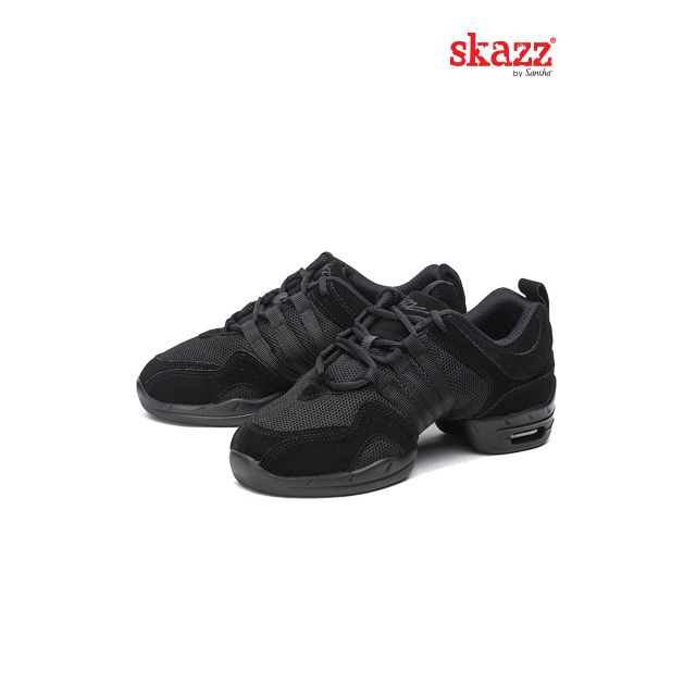 Sansha Skazz baskets-sneakers cuir TUTTO NERO P22LS