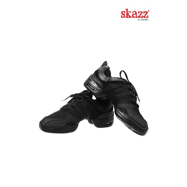 Sansha Skazz baskets-sneakers TUTTO NERO P22M