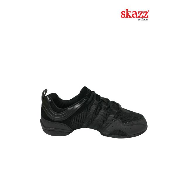Sansha Skazz baskets-sneakers resille SOLO NERO S22M