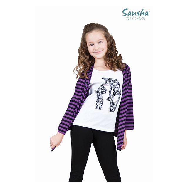 Sansha manches longues fake twin set SH-6