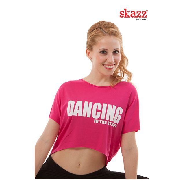 Sansha Skazz t-shirt adulte ''Jazz in Skazz'' SK3042V