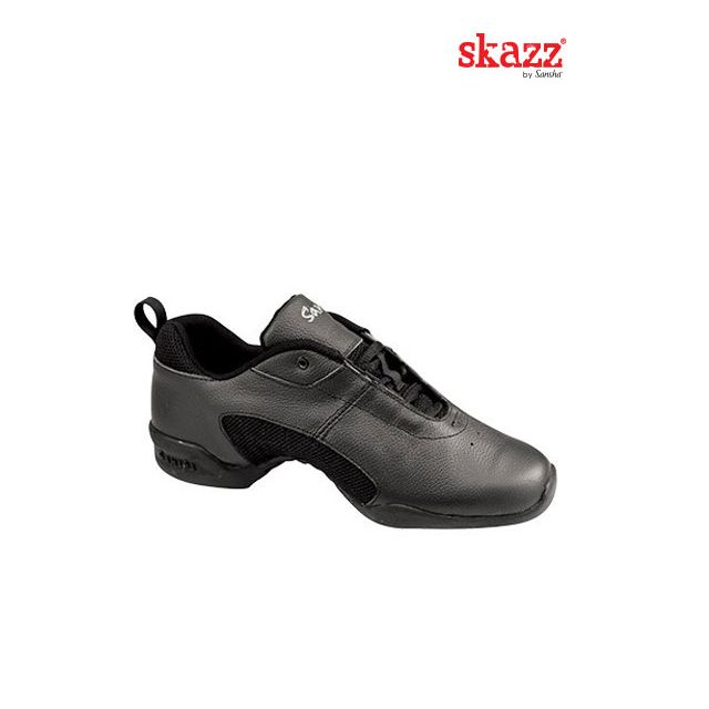 Sansha Skazz baskets-sneakers basses cuir TITANIUM T01L