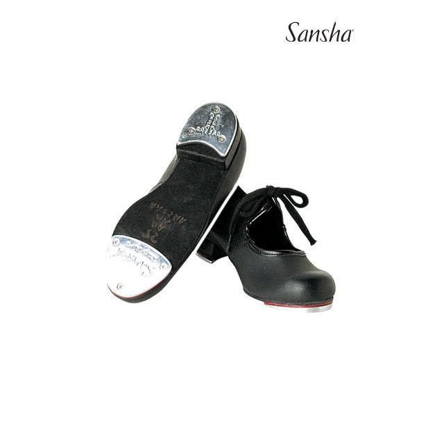 Sansha chaussures claquettes cuir enfant TEE-KIDS TA121L