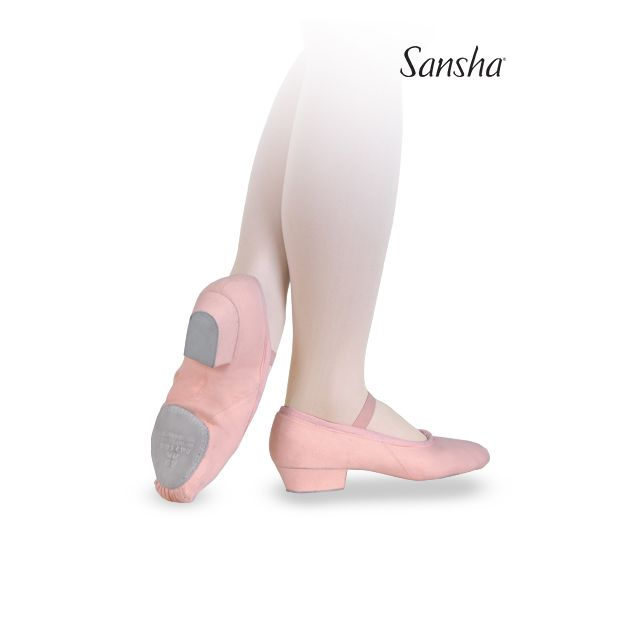 Sansha chaussures de professeur toile PRIMA TE5C