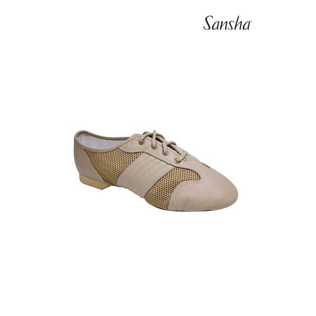 Sansha jazz baskets-sneakers cuir SAN LUIS V35L