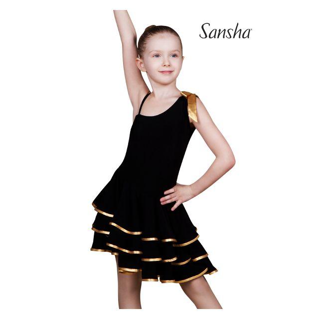 Sansha Robe sans manche asymétrique BIANCA Y1709P