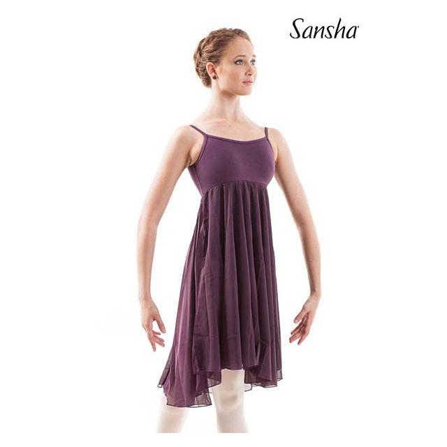 Sansha robe minces bretelles MABEL L1804CH