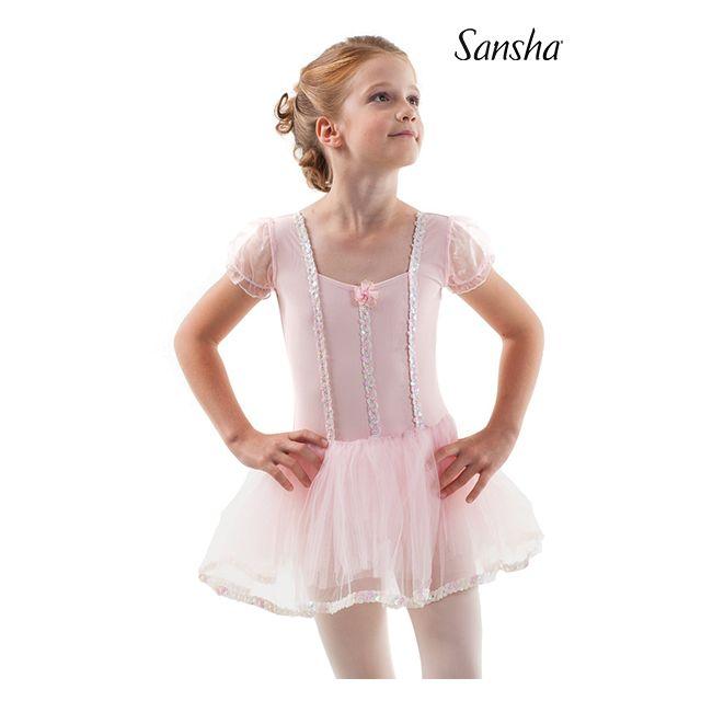 Sansha short sleeve tutu entier FIDELITY Y3801N