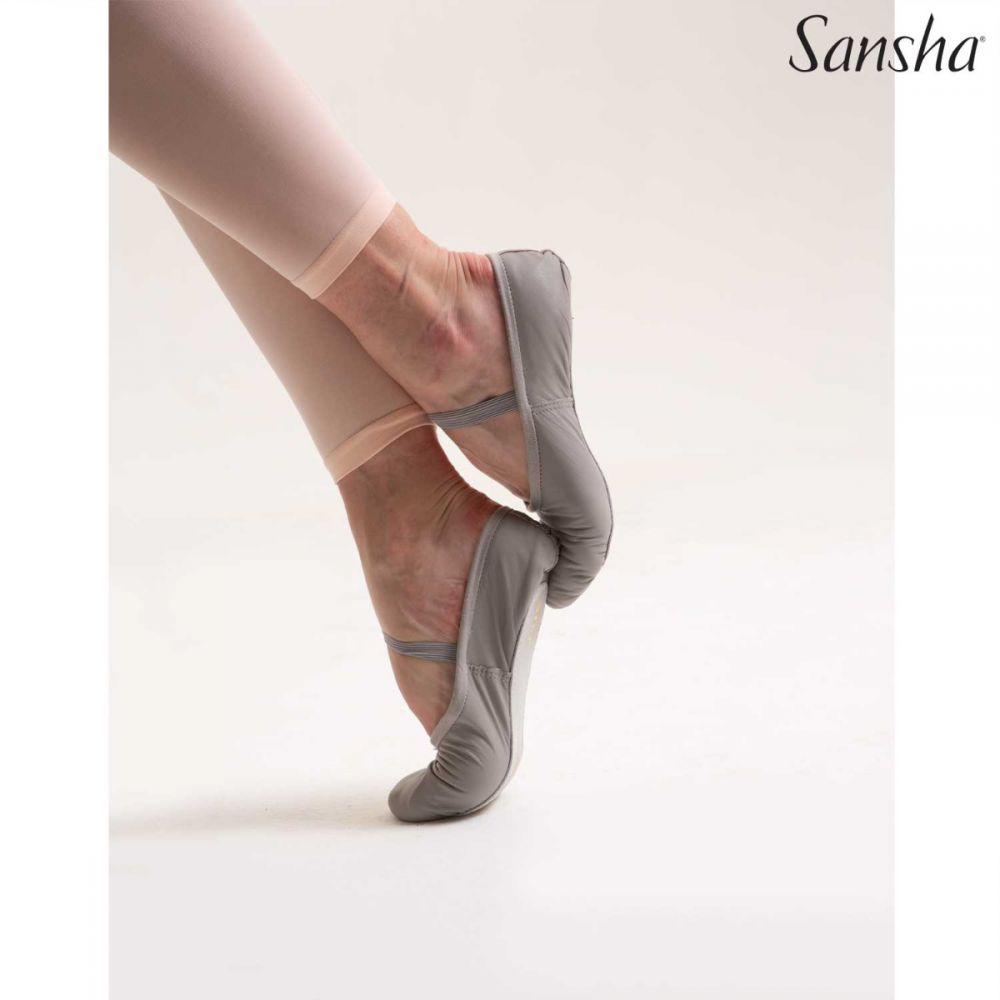 Sansha demi pointes classiques cuir STAR 14L