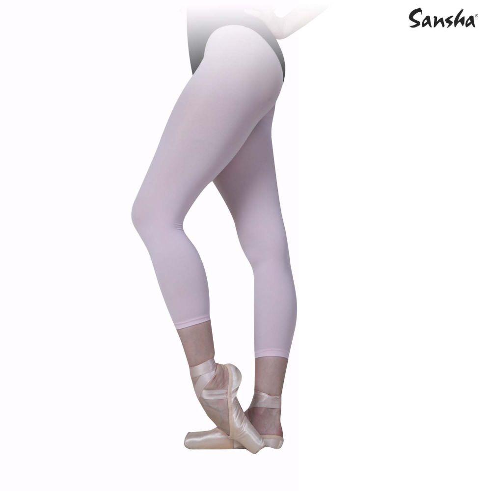 Sansha Collants de ballet convertibles en microfibre 70 deniers